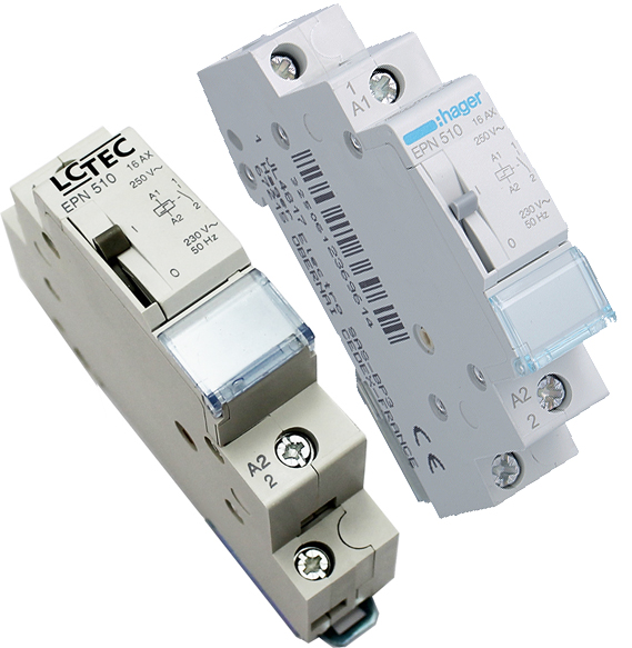 Hager FI//LS-Schalter ACS916D 1P+N 6kA B16A 0,01A A QC/&QB